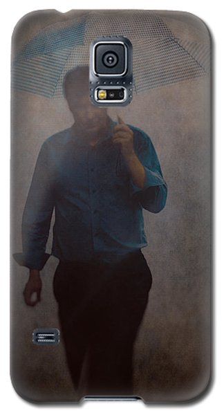 Man With An Umbrella Galaxy S5 Case