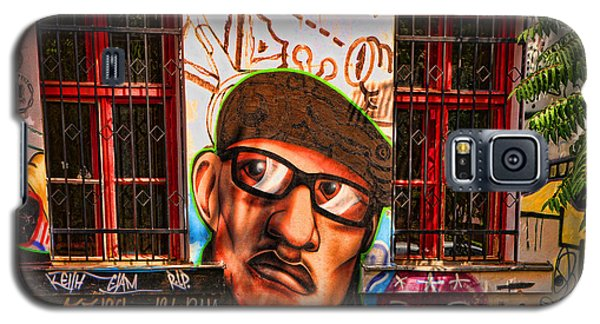 Man With Glasses Galaxy S5 Case by Graham Hawcroft pixsellpix