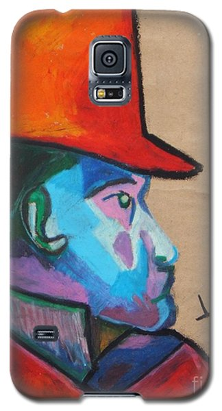 Man With Top Hat Galaxy S5 Case