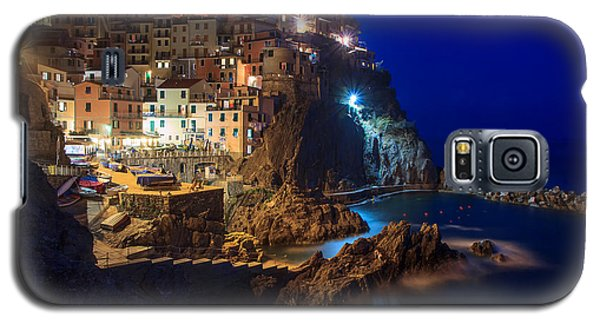 Manarola At Night Galaxy S5 Case