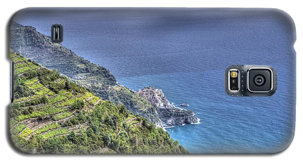 Manarola By The Sea Galaxy S5 Case