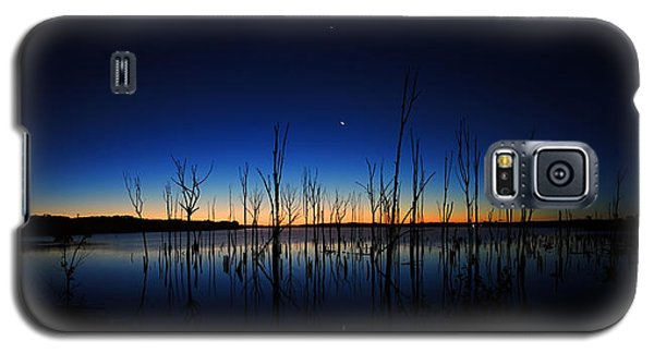Manasquan Reservoir At Dawn Galaxy S5 Case