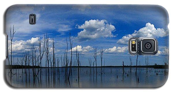 Galaxy S5 Case featuring the photograph Manasquan Reservoir Panorama by Raymond Salani III