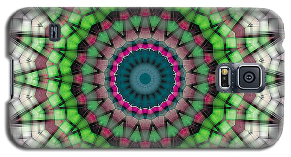 Galaxy S5 Case featuring the digital art Mandala 26 by Terry Reynoldson