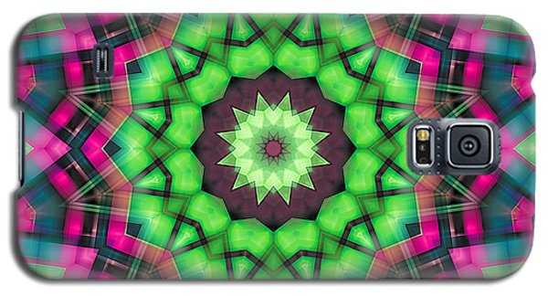 Galaxy S5 Case featuring the digital art Mandala 29 by Terry Reynoldson