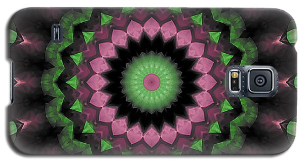 Galaxy S5 Case featuring the digital art Mandala 34 by Terry Reynoldson