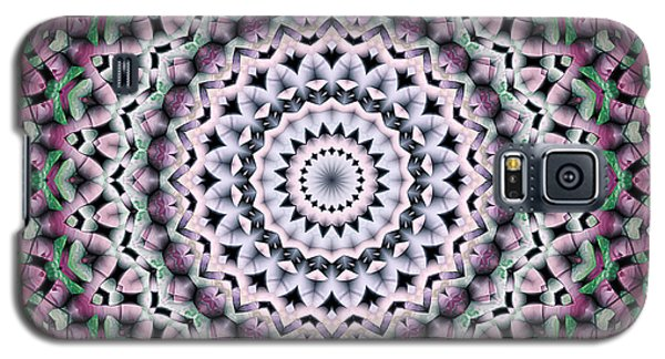 Galaxy S5 Case featuring the digital art Mandala 38 by Terry Reynoldson