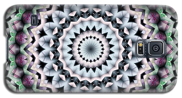 Galaxy S5 Case featuring the digital art Mandala 40 by Terry Reynoldson