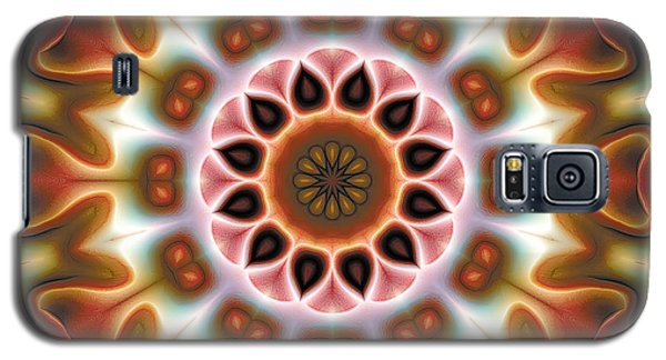 Galaxy S5 Case featuring the digital art Mandala 67 by Terry Reynoldson