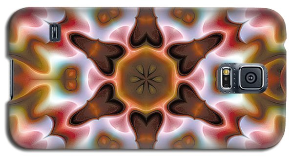 Galaxy S5 Case featuring the digital art Mandala 68 by Terry Reynoldson