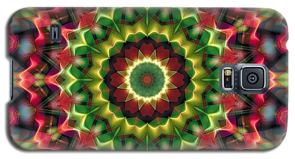 Galaxy S5 Case featuring the digital art Mandala 70 by Terry Reynoldson