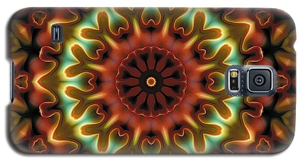 Galaxy S5 Case featuring the digital art Mandala 71 by Terry Reynoldson