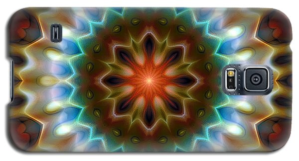 Galaxy S5 Case featuring the digital art Mandala 79 by Terry Reynoldson
