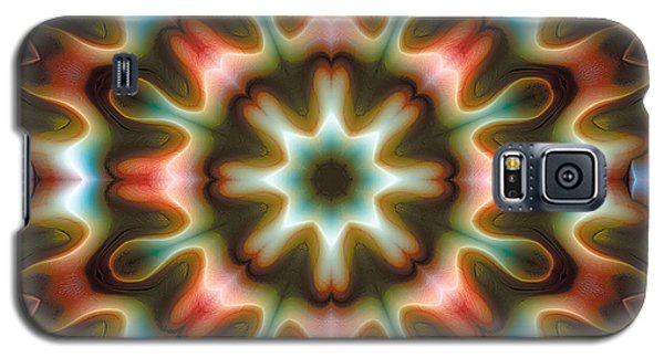 Galaxy S5 Case featuring the digital art Mandala 80 by Terry Reynoldson