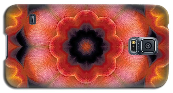 Galaxy S5 Case featuring the digital art Mandala 91 by Terry Reynoldson