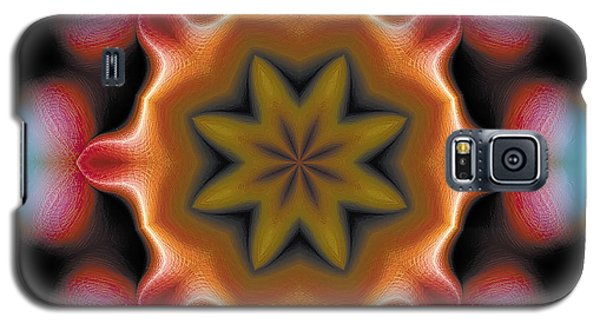Galaxy S5 Case featuring the digital art Mandala 94 by Terry Reynoldson