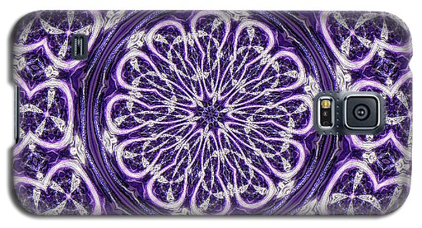 Galaxy S5 Case featuring the photograph Mandala by Linda Weinstock