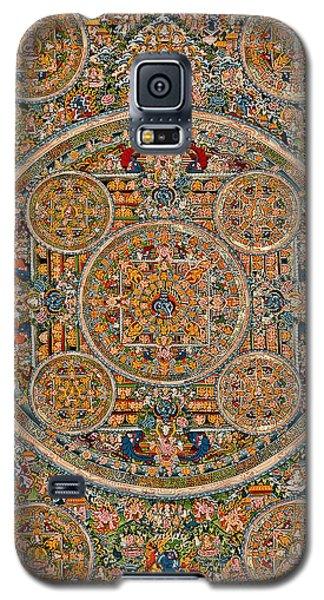 Mandala Of Heruka In Yab Yum And Buddhas Galaxy S5 Case