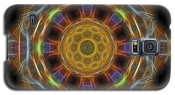Mandala Of Light 1 Galaxy S5 Case