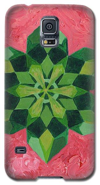 Mandala Of The Heart Galaxy S5 Case