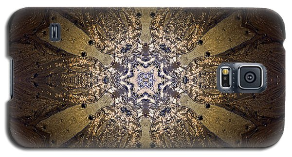 Galaxy S5 Case featuring the photograph Mandala Sand Dollar At Wells by Nancy Griswold