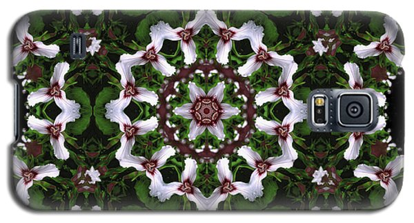 Mandala Trillium Holiday Galaxy S5 Case