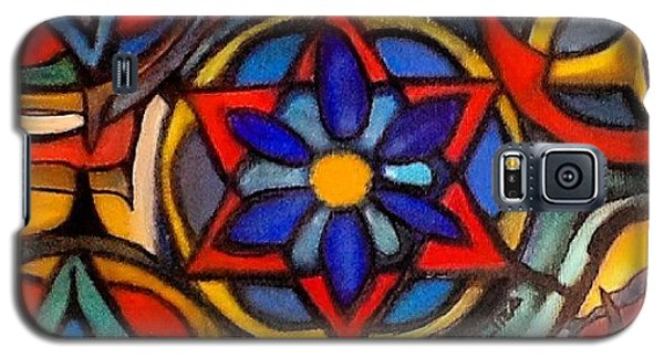 Galaxy S5 Case - Mandalas Vintage by Sandra Lira
