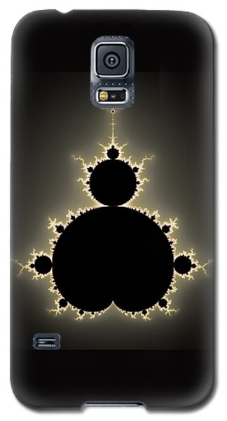 Mandelbrot Set Square Format Art Galaxy S5 Case