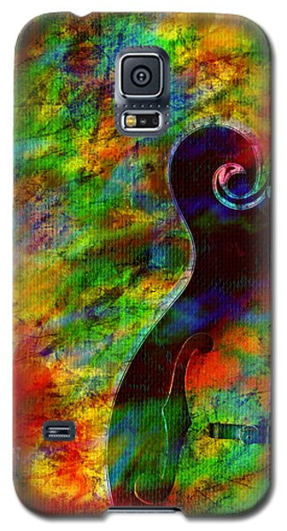 Mandolin Magic Galaxy S5 Case by Ally  White