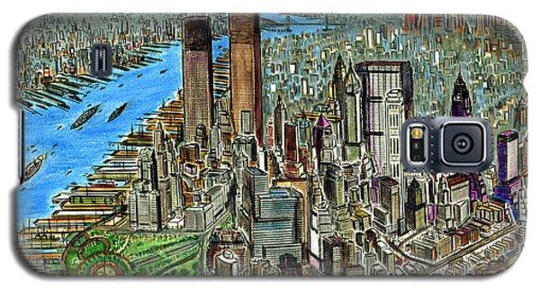 New York Downtown Manhattan 1972 Galaxy S5 Case