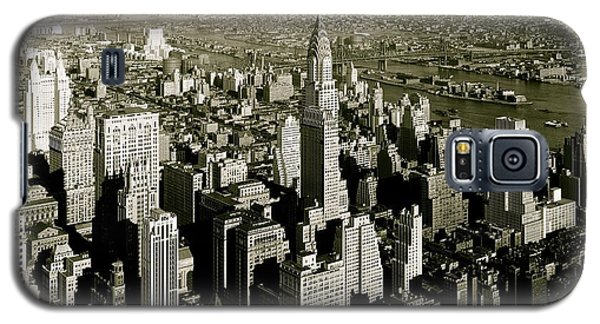 Manhattan And Chrysler Building II Galaxy S5 Case