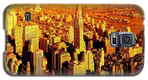 Manhattan And Chrysler Building Galaxy S5 Case
