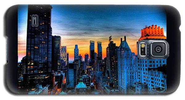 Manhattan At Sunset Galaxy S5 Case