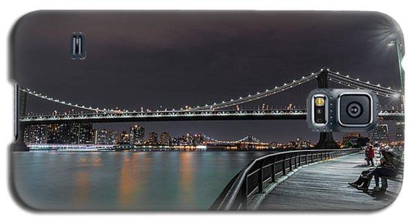 Manhattan Bridge - New York - Usa 2 Galaxy S5 Case by Larry Marshall
