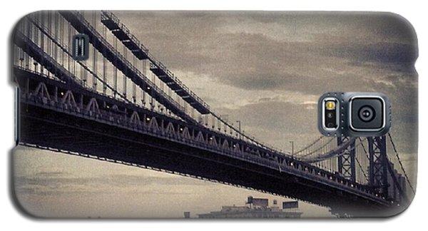 Manhattan Bridge In Ny Galaxy S5 Case