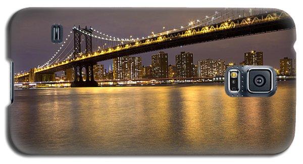 Manhattan Bridge Lights  Galaxy S5 Case