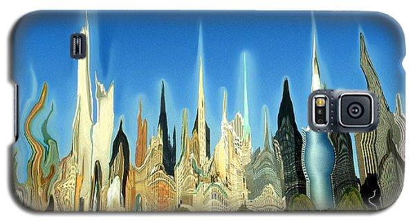 New York City 2100 - Modern Art Galaxy S5 Case