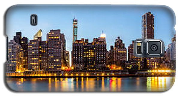 Manhattan Panorama And Queensboro Bridge Galaxy S5 Case