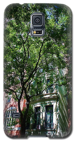 Galaxy S5 Case featuring the photograph Manhattan Upper East Side Late Summer by Andy Prendy