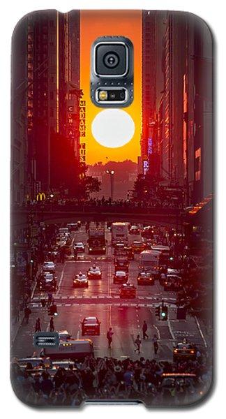 Manhattanhenge Galaxy S5 Case