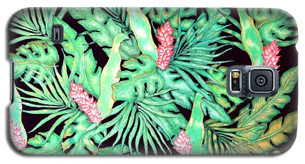 Galaxy S5 Case featuring the painting Manoa by Thomas Gronowski