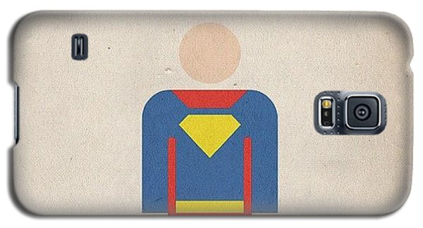 Superhero Galaxy S5 Case - #manofsteel #steel #man #superman #hero by Katie Ball