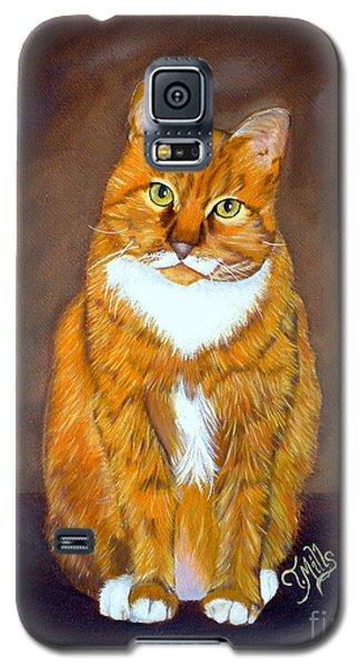 Manx Cat Galaxy S5 Case by Terri Mills