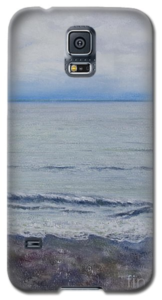 Galaxy S5 Case featuring the painting Manx Mist by Stanza Widen