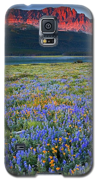 Many Glacier Morning  Galaxy S5 Case by Aaron Whittemore