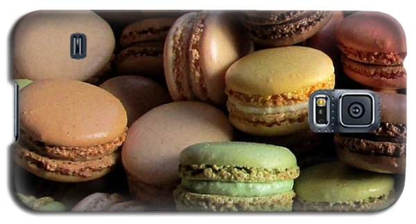 Galaxy S5 Case featuring the photograph Many Mini Macarons by Brenda Pressnall