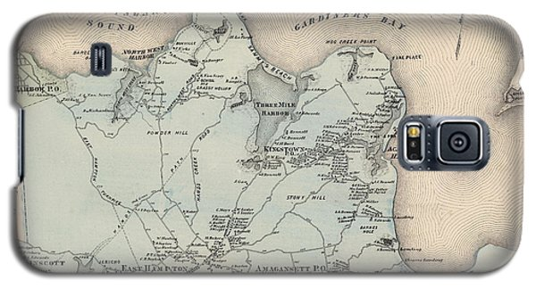 Map Of East Hampton 1873 Galaxy S5 Case