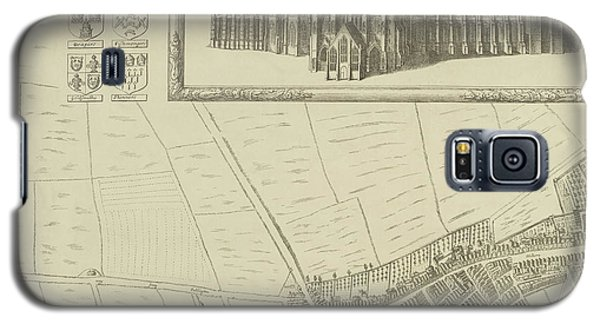 Map Of Westminster In The City Of London Galaxy S5 Case by British Library