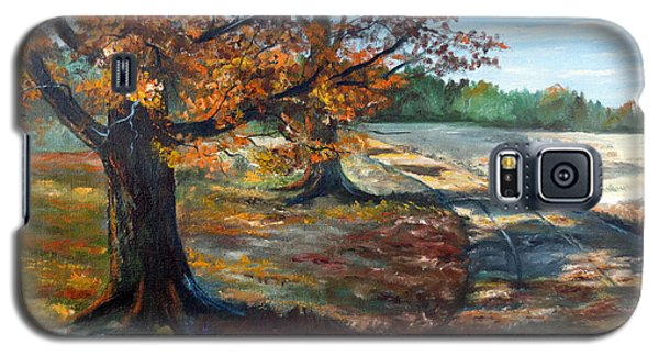 Maple Lane Galaxy S5 Case by Lee Piper