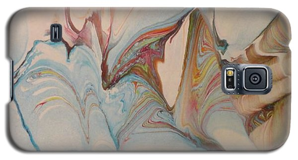 Galaxy S5 Case featuring the painting Marble 24 by Mike Breau